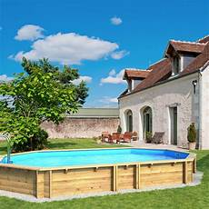 bois pour piscine piscine hors sol bois weva octogonale proswell