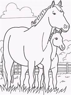 coloring pages of farm animals and their babies 17449 and babies coloring