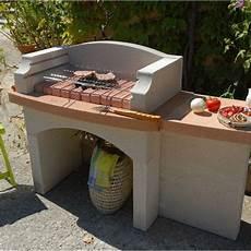 modele de barbecue exterieur barbecue en b 233 ton blanc lub 233 l 54 x l 143 5 x h 95 cm