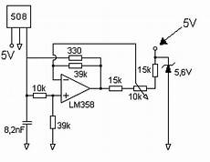 Op Problem With Effect Sensor Circuit To Detect
