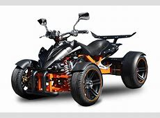 Quad met kenteken Spy Racing RS Quad 350cc zwart/matt