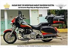 Kaisar Ruby Modif by Classic Bikers Shop Hasil Modifikasi Motor Kaisar Ruby
