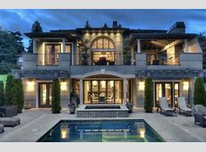 Modern Mediterranean Home on Yarrow Point   House facades