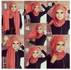 Gambar Tutorial Jilbab Modern Dan Stylish 2017 Mayra