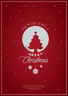 merry christmas poster design vector image 1744225 stockunlimited