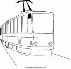 Malvorlagen Zug Quest Strassenbahn 1 Gratis Malvorlage In Lastwagen
