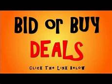 buy and bid bid or buy special page fresh deals promotions visit