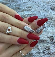 beautiful nails acrylic design for christmas 2017 5