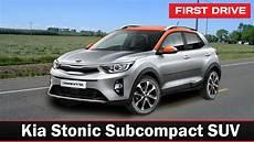 2018 Kia Stonic Subcompact Suv Drive