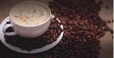 Gambar Biji Kopi Latte Cappuccino Makanan Minum