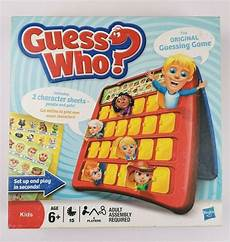 guess my age for kids guess who original guessing game hasbro family kids board game 2 players age 6 hasbro in 2020