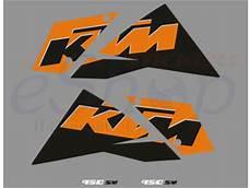 ktm 950 sm 2007 2008 black orange eshop stickers