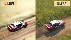 Dirt Rally 2 0 Ultra Low Vs Ultra Graphics Comparison