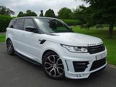 used fuji white land rover range rover sport for sale essex