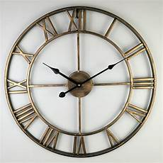 vintage large wall clock modern design decorative living