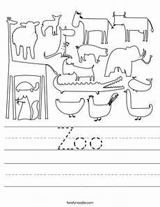 zoo animal worksheets kindergarten 14321 zoo worksheet twisty noodle