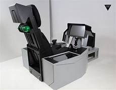 F 16 F 35 F 18 A 10 Simulator Cockpit With Ejection