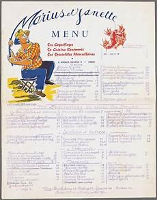 menu traditionnel français a quoi ressemblaient les menus de restaurants au si 232 cle