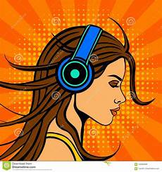bilder pop pop comic book style listening in