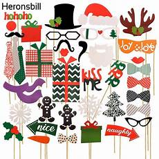 aliexpress com buy heronsbill 2017 merry christmas photo booth props decorations for home