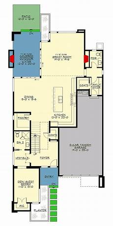 lake house floor plans narrow lot best of lake house plans for narrow lots