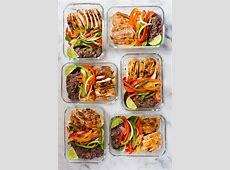 Healthy Chicken Fajitas Meal Prep   Meal Prep On A Budget