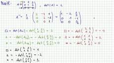 5 3 determinantenformel f 252 r die inverse matrix