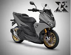 Vario 125 Modif Nmax by Modifikasi Yamaha Aerox 125 Lc Nmax Pun Kesaing