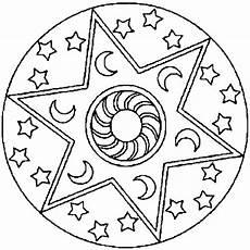 Ausmalbilder Sterne Und Mond Sonne Mond Sterne