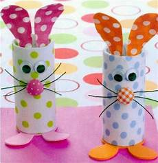 Toilet Paper Roll Bunnies Easter