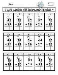 digit addition and subtraction with regrouping 2
