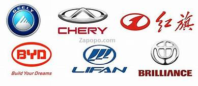Chinese Automobile Manufacturers Motor Vehicle Companies