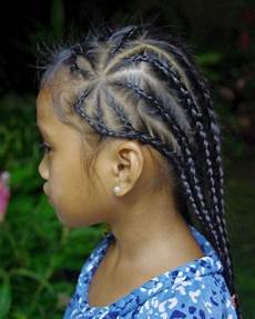 braids hairstyles for super long hair micronesian girl star rows braids