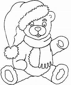 teddy coloring book page teddy