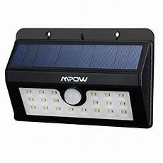 20 le solaire jardin led sans fil mpow luminaire