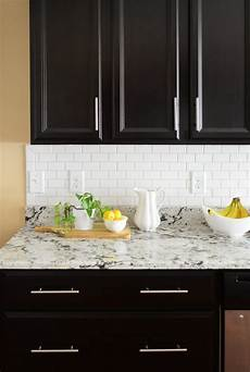 How To Install Subway Tile Backsplash Kitchen Installing A Subway Tile Backsplash For 200 House