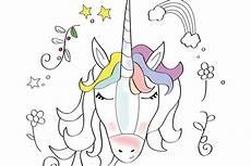 Ausmalbilder Zum Ausdrucken Unicorn Printable Mein Einhorn Heisst Ausmalbild Hallo