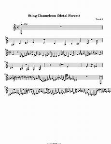 sting chameleon metal forest sheet music sting chameleon metal forest score hamienet com