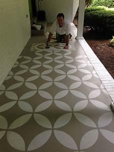 concrete patio floor paint ideas yard pinterest porch porch flooring and porch makeover