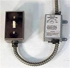 attic fan wiring gen3 electric 215 352 5963 wiring up a thermostat to a fan