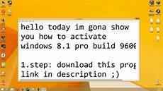 how to activate windows 8 1 pro build 9600 youtube