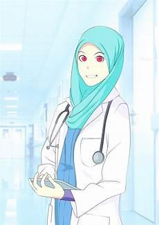 Muslimah Doctor Colored By Joehanif On Deviantart