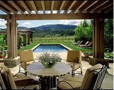terrace rustic patio san francisco by dizier