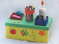 worksheets about family 18193 desktop organizer craft activities for school age crafts back to school crafts