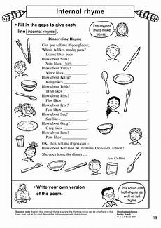 rhythmic pattern worksheet for grade 5 518 ks2 poetry exploring rhythm and rhyming teachit primary