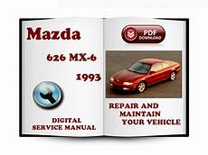 free online auto service manuals 1993 mazda mx 3 security system mazda 626 mx 6 1993 service repair manual download manuals