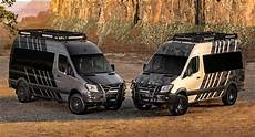mercedes sprinter goes from to road cer