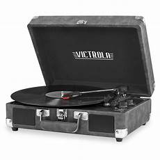 Retro Sound Phonograph Record Player Bluetooth by Vsc 550bt Gry Victrola Vintage 3 Speed Bluetooth Portable