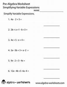 algebra simplify expressions worksheets 8391 answer answer liner pre algebra pizzazz html images frompo
