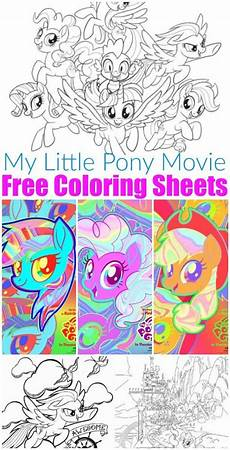free printable my pony coloring sheets my